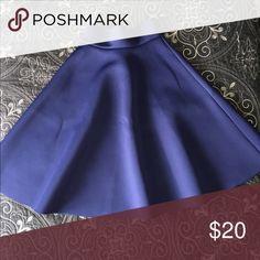 Navy blue skirt. Stylish, navy blue skirt. Never worn. Skirts