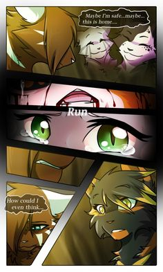 Scarlet River: Pg 8 by on DeviantArt Warrior Cat Names, Warrior Cats Comics, Warrior Cat Drawings, Warrior Cats Fan Art, Cat Comics, Warriors Memes, Cat Reading, Wolf Pictures, Furry Drawing