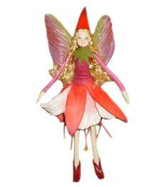 Bendable Petal Fairies Summer Fairy Fuchsia