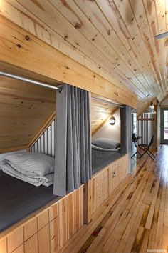 Incredible Little House Interior Design Ideas – Home Access … – Home Design Ideas Bunk Rooms, Attic Bedrooms, Bunk Beds, Loft Beds, Bedroom Loft, Extra Bedroom, Upstairs Bedroom, Bedroom Rustic, Master Bedroom