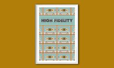 Movie poster High Fidelity 12x18 inches print by ClaudiaVarosio, £12.00