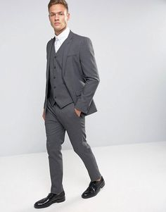 Find the best selection of Selected Homme Black Suit with Stretch in Slim Fit. Shop today with free delivery and returns (Ts&Cs apply) with ASOS! Asos Online Shopping, Online Shopping Clothes, Mens Suits For Sale, Calvin Klein, Wedding Dress Men, Skinny Suits, Ralph Lauren, Mens Fashion Suits, Man Fashion