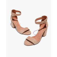 18dfe4716af Madewell+-+The+Regina+Ankle-Strap+Sandal Suede Sandals