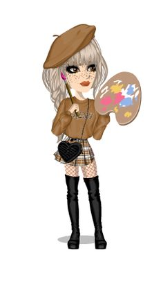 MoviestarPlanet - a social game for kids, teens & tweens. Retro Outfits, Classic Outfits, Vintage Outfits, Cute Outfits, Msp Vip, Roblox Pictures, Fisher, Cute Animal Drawings, Tumblr Girls