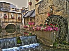 the small mill..... Bayeux, France