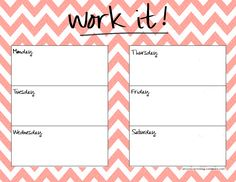 Next Stop   Planner Template Weekly Planner And