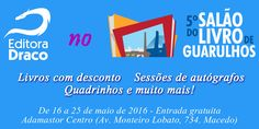 Draco no 5º Salão do Livro de Guarulhos - 2016