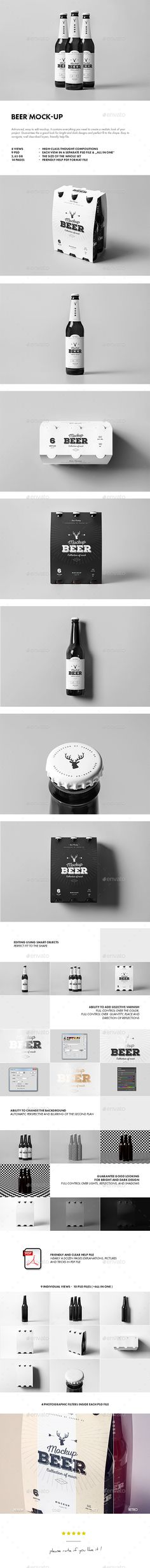 Beer Mock-up. Download here: http://graphicriver.net/item/beer-mockup/15173886?ref=ksioks