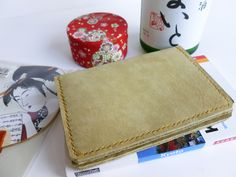 £30.50 Suede Passport Cover or Wallet: Duck Egg Green. Would also fit a Pocket Journal or Notebook. https://www.etsy.com/uk/listing/493534945/suede-passport-cover-or-wallet-duck-egg?ref=shop_home_active_11
