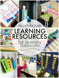 Classroom Must-Haves: Resources I Love