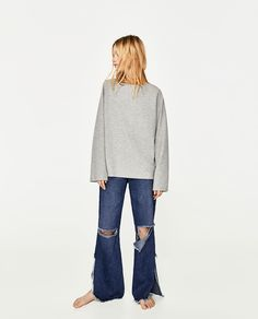 BELL SLEEVE SWEATER-View All-KNITWEAR-WOMAN | ZARA United States