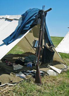 Civil War Soldier's Tent #2 by twg1942, via Flickr