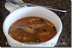 Crockpot Enchilada Soup