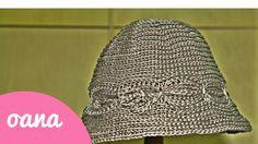 crochet cloche camel stitch hat
