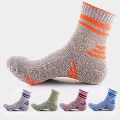 Ocean Bluevin 5 Mix Colors New Design Men Socks Geometric Patterns Quality Casual Thick Anti-skid Autumn Winter Warm Woolen Sock