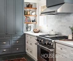 Photo Gallery: Bistro & Restaurant-Style Kitchens   House & Home
