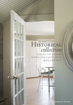 The #BenjaminMoore Historical Collection. Classic yet modern, iconic and captivating, tried and true.