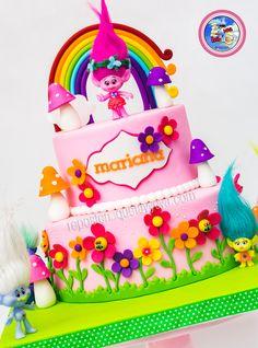 Torta trolls - trolls cake