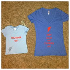 Baby Thunder Up tee by YOStees on Etsy, $15.99