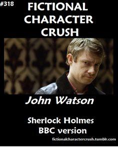 #318 - John Watson from Sherlock Holmes BBC version 03/09/2012