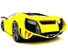 Lamborghini Concept Car #scoresense