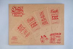 The Distillery: Promotional press-out popcorn box for Sign Painters The Movie
