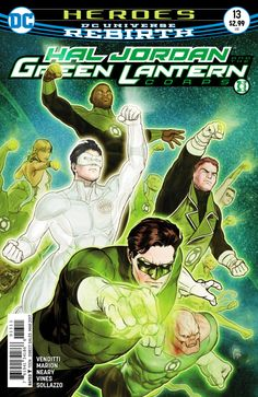 Hal Jordan And The Green Lantern Corps #13 - Heroes (Issue)