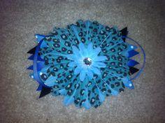 Flower Bow by TutusNBows4u on Etsy, $6.00