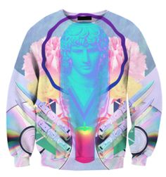 Pastel grunge sweater - The Best Fashion İdeas For Ladies Grunge Style, Soft Grunge, Pastel Grunge, Grunge Outfits, Tumblr Outfits, Sporty Outfits, Cool Outfits, Vaporwave Clothing, Vaporwave Fashion