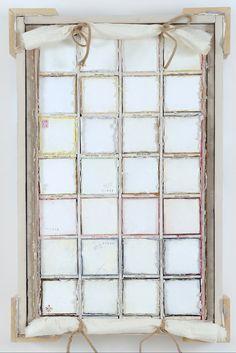 A fresh approach to colour #dravetart #art #louisboudreault #colour #white #boxes #series #pigment #decor #home
