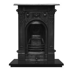 Carron Victorian (Small) Cast Iron Fireplace Suite - Fireplaces Are Us