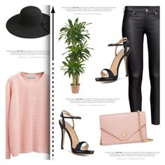 """""""Beautiful Halo #4"""" by antemore-765 ❤ liked on Polyvore featuring H&M, Tory Burch and Nearly Natural"""