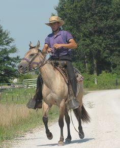 An Amish cowboy