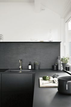 Trend Black kitchen jke design stylizimo