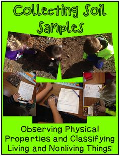 Collecting Soil Samples to Make Observations
