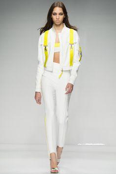 Versace Couture Spring 2016 Model: Yasmin Wijnaldum