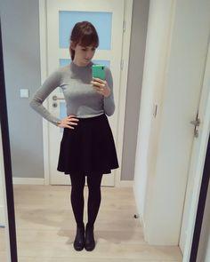 Prościej się nie da :) #ootd #simple #florencebeauty  @zara #spódniczka