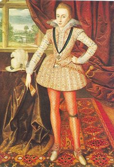 Henry Frederick, Prince of Wales (19 February 1594 – 6 November 1612) was the eldest son of King James I & VI and Anne of Denmark. His name comes from grandfathers Henry Stuart, Lord Darnley and Frederick II of Denmark.Prince Henry was widely seen as a bright promising heir to his father's throne.However, at the age of 18, he predeceased his father when he died of typhoid fever.Subsequently, heirship to the English and Scottish thrones passed to his younger brother Charles. by lisby1, via Fl...