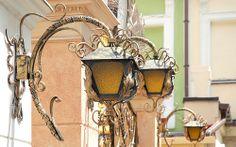 Odessa Art Noveau Lamp