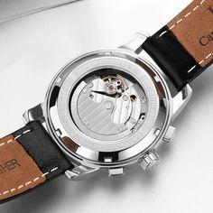 aac9d2898fa CARNIVAL ceasuri bărbați bărbați automate mecanice ceasuri de lux marca  relogio masculino Sapphire faze lunar Mens Watch C-8781-5