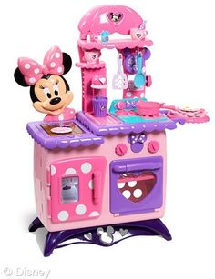 OMG I LOVE this!!!! I want it now so my future daughter can have it :)... Minnie Bow-tique toys