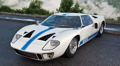 The Ford GT40 is the road-legal version of the all-conquering Le Mans racer.