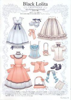 时尚女装搭配 插画动漫手绘 背景素材 iPhone壁纸 可爱女生╯з ︶ 麽麽