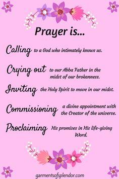 Five Ways to Pray to Move Mountains! Prayer Scriptures, Bible Prayers, Prayer Quotes, Bible Verses, Biblical Quotes, Spiritual Quotes, Inspirational Prayers, After Life, Morning Prayers