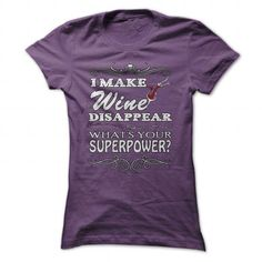 Wine Super Power - #gift wrapping #gift amor. FASTER => https://www.sunfrog.com/Funny/Wine-Super-Power-Purple-22749673-Ladies.html?68278