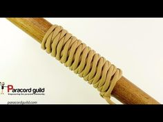 West country whipping- an easy paracord wrap - YouTube