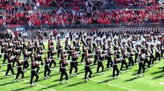 """THE Ohio State University Marching Band's Ramp Entry into Ohio Stadium and, according to Sports Illustrated, """"one of the greatest spectacles in college sports"""" the famous Script Ohio....why they are so aptly named The Best Damn Band In The Land or TBDBITL for short."""