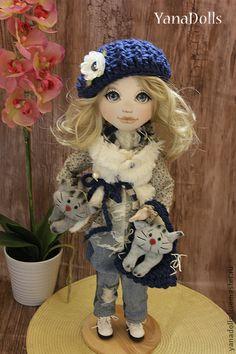 Коллекционные куклы ручной работы. Ярмарка Мастеров - ручная работа Мари. Handmade.