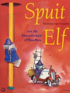 Spuit Elf en de brandweerolifanten - Harmen van Straaten