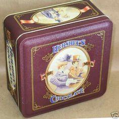 VINTAGE HERSHEY'S PURE MILK CHOCOLATE Tin 1898 ED #4